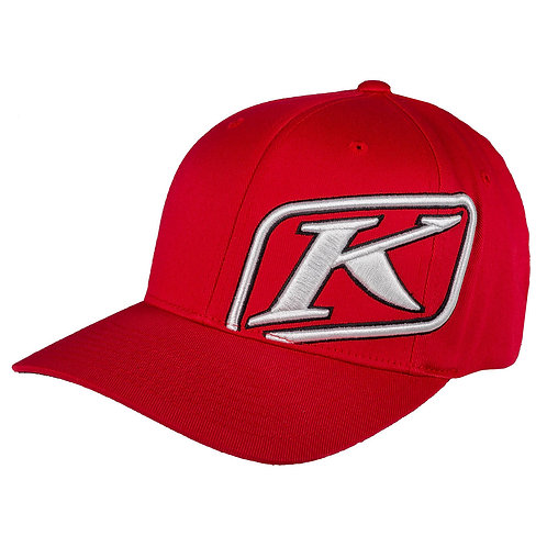 KLiM RIDER CAP RED WHITE