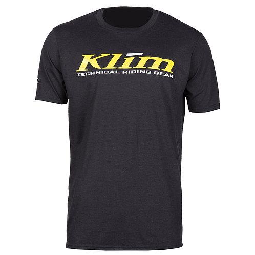 Klim K-Corp T-Shirt Black Yellow, MMD ADVENTURES, 3852 Ringgenberg, Schweiz