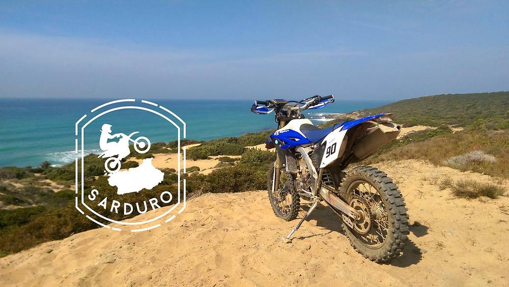 Sarduro - Motorrad Fahren im Winter