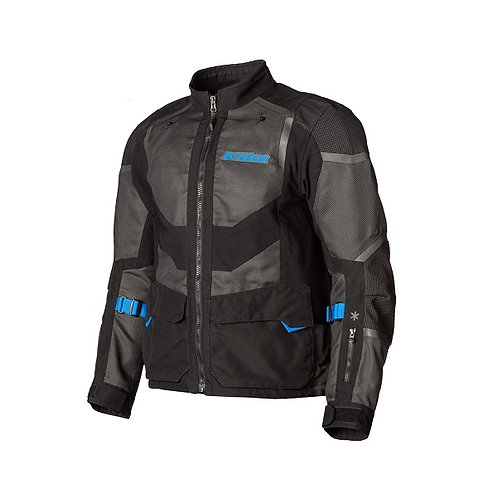 Klim Baja S4 Jacket Black Kinetik Blue