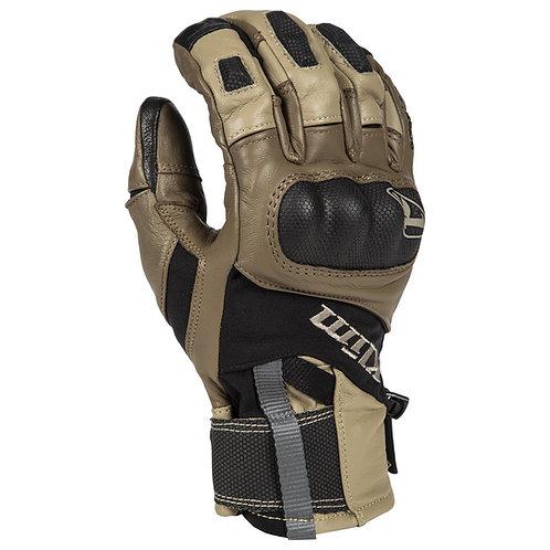 Klim Adventure Glove Short Tan Kurz Goretex Handschuh Motorrad