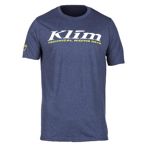 Klim K-Corp T-Shirt Navy Frost White, MMD ADVENTURES, 3852 Ringgenberg, Schweiz