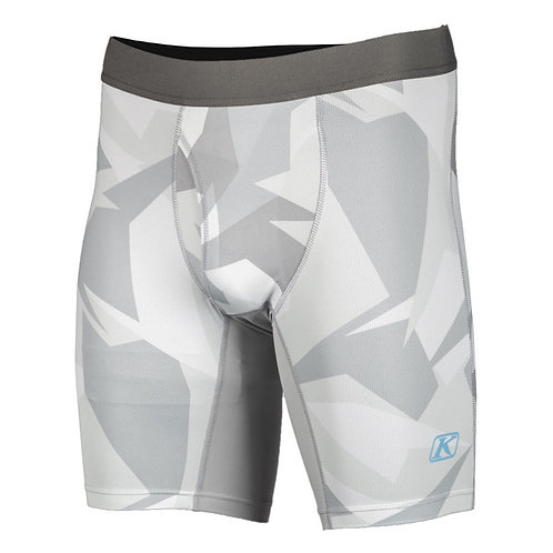 KLiM -1.0 AGGRESSOR COOL SHORTS LIGHT GRAY