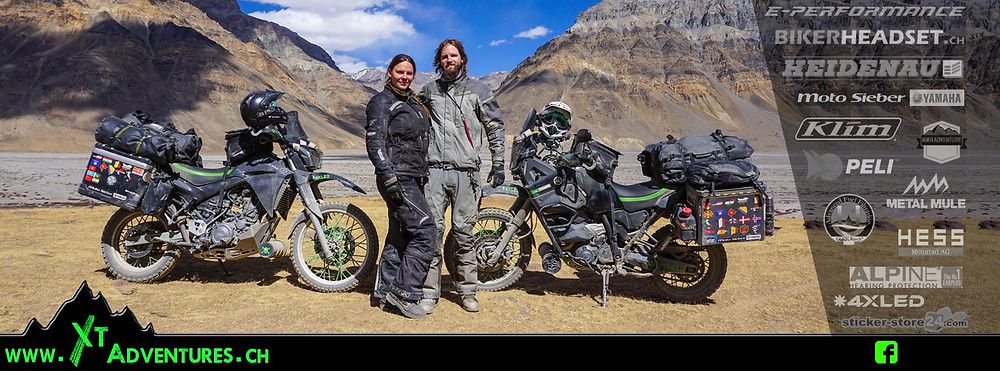 XT-Adventures is proudly supported by MMD Adventures - Klim - Enduristan