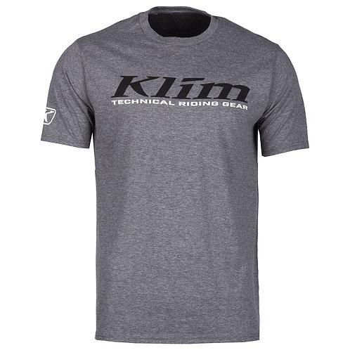 Klim K-Corp T-Shirt Gray Frost Black, MMD ADVENTURES, 3852 Ringgenberg, Schweiz