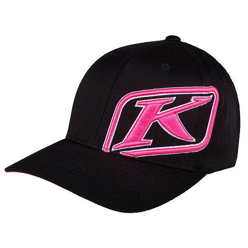 KLiM RIDER CAP BLACK KNOCKOUT PINK