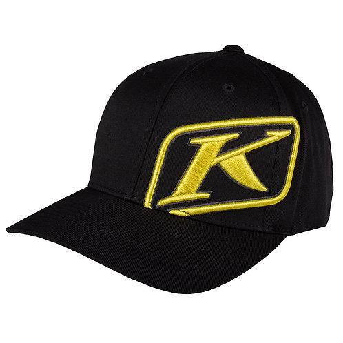 Klim rider cap black yellow