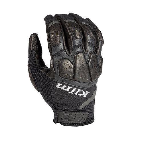 Klim Dakar Pro Glove Handschuh Black Schwarz Leder Motorrad