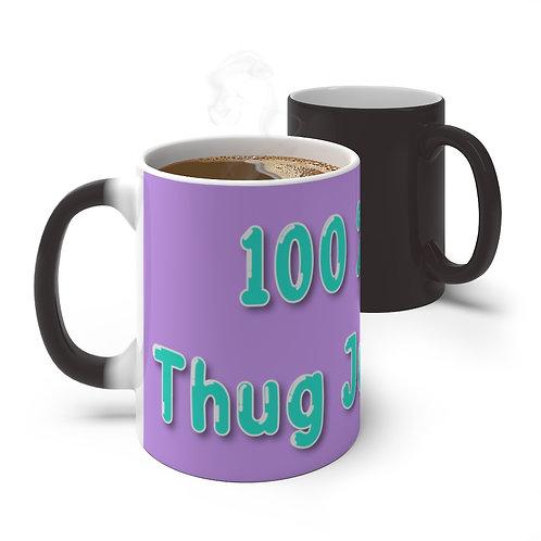 100% Thug Juice Thermal Thug Mug (Purple)