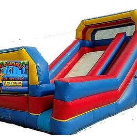 Double Backyard Slide - Dry