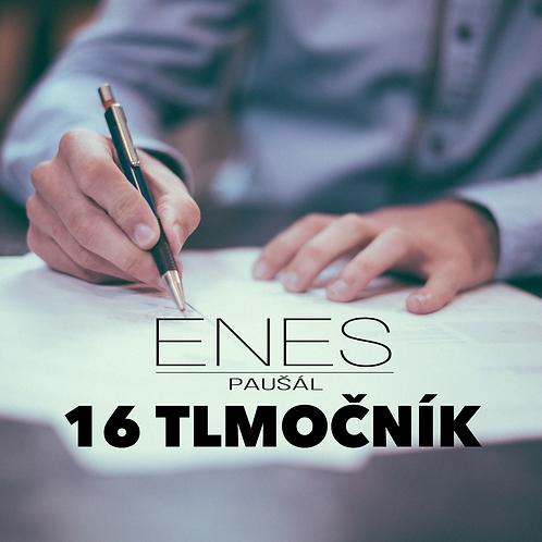 ENES paušál 16 TLMOČNÍK