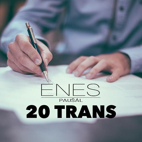 ENES paušál 20 Trans