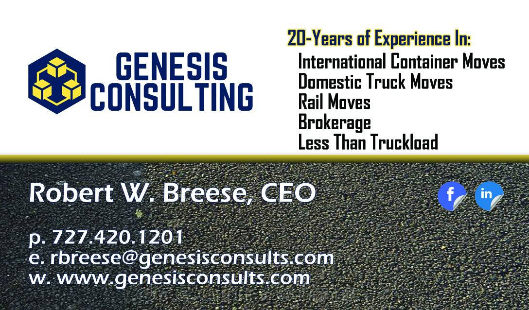 Genesis Consulting Logistics