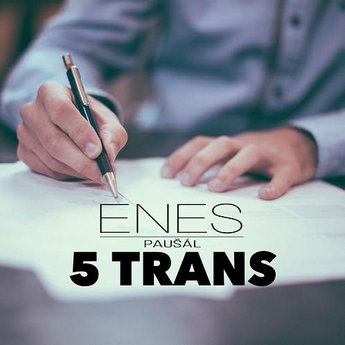 ENES paušál 5 Trans