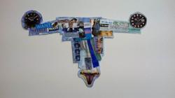 Clock, Collage, 2014