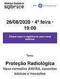 Proteção Radiológica Nova normativa Anvisa, conceitos básicos e inovações