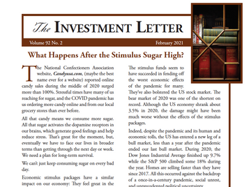 What Happens After the Stimulus Sugar High?