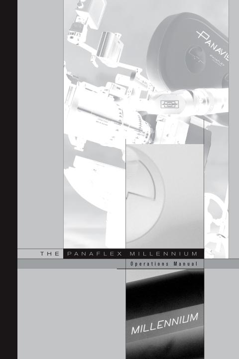 Panavision Millennium Manual