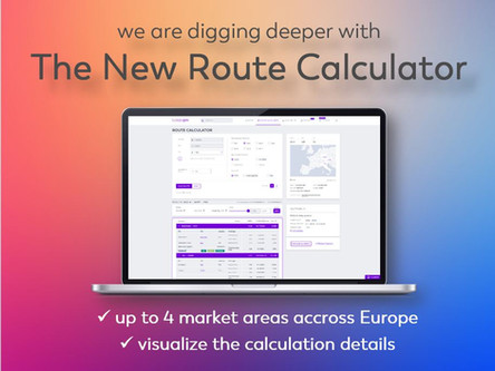 We are digging deeper with the new route calculator