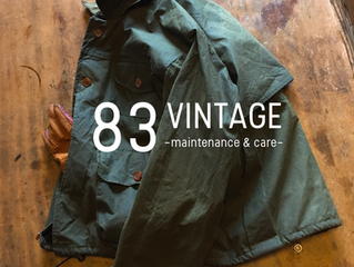 83 VINTAGE   - maintenance & care - Trunk show