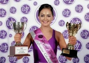 Jessica Kingsley - WZ Senior Champion