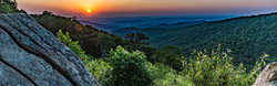 hazel mountain sunrise panorama