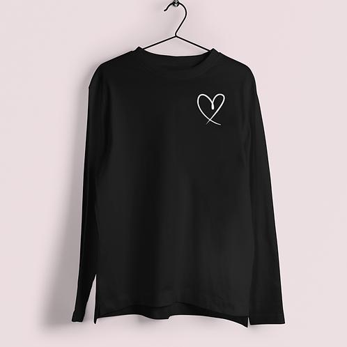 Heart Long Sleeve Tees