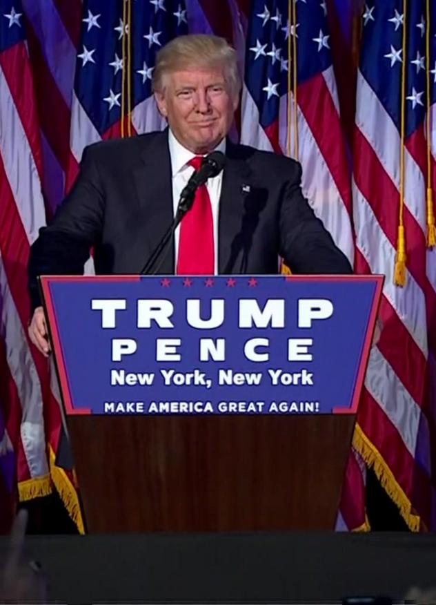 PRESIDENT TRUMP Polls lose. Media lose. Advertising lose. Big data lose:  PEOPLE WIN