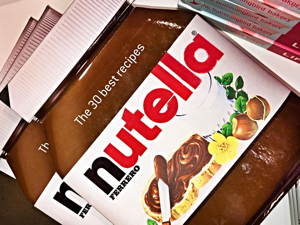 Nutella brand recipes book