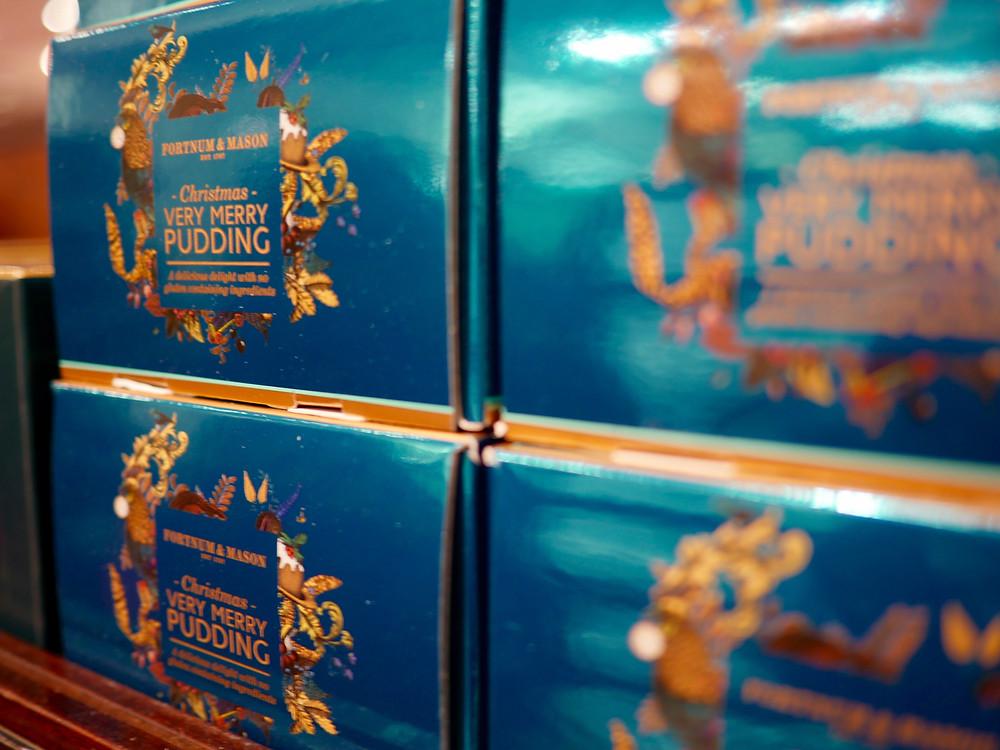 Fortnum & Mason Xmas pudding