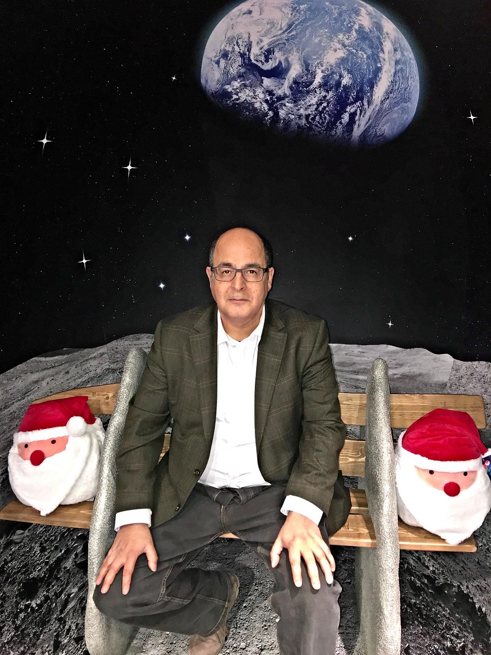 John Lewis Gabay man in the moon