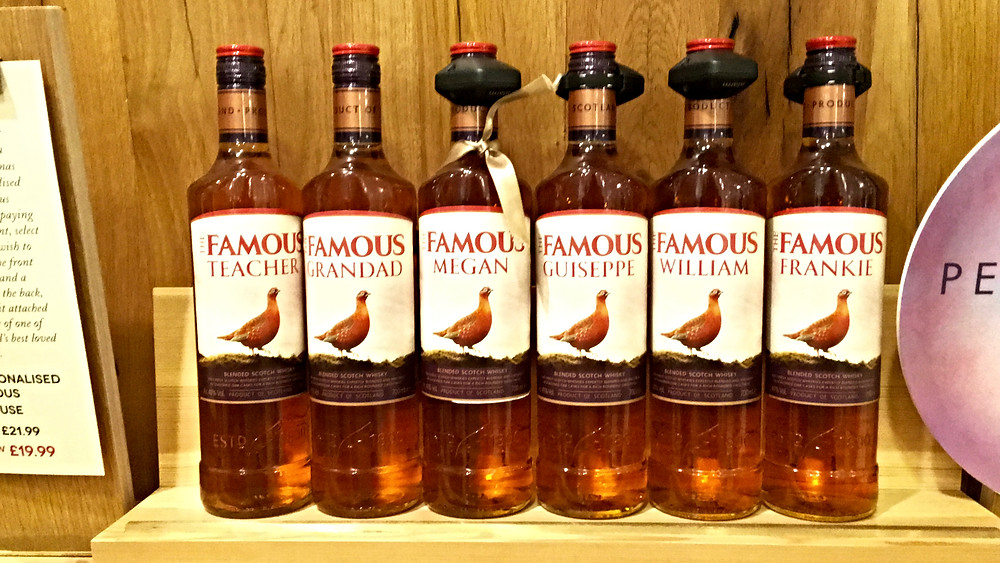Personalised brand booze