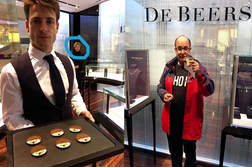 De Beers 2015 Xmas promotion London Westfield brand Gabay