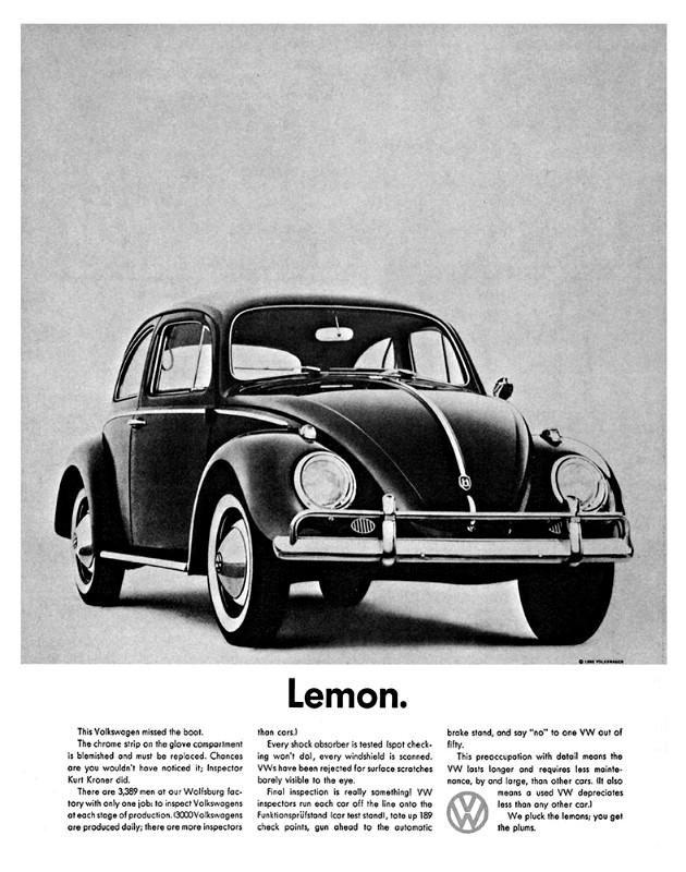 Did Volkswagen sell us a lemon?