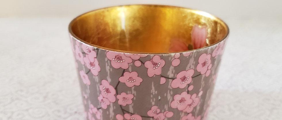 Melinda Shea Tealight - Pink Flowers
