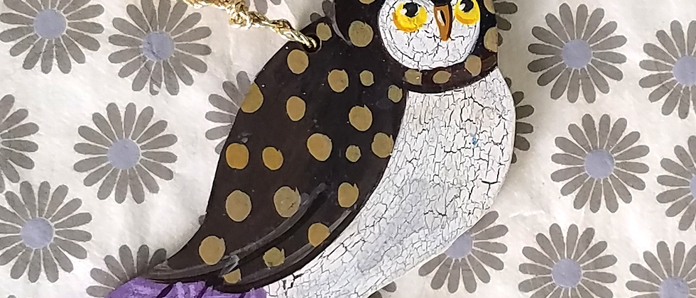 Dickens the Owl Ornament