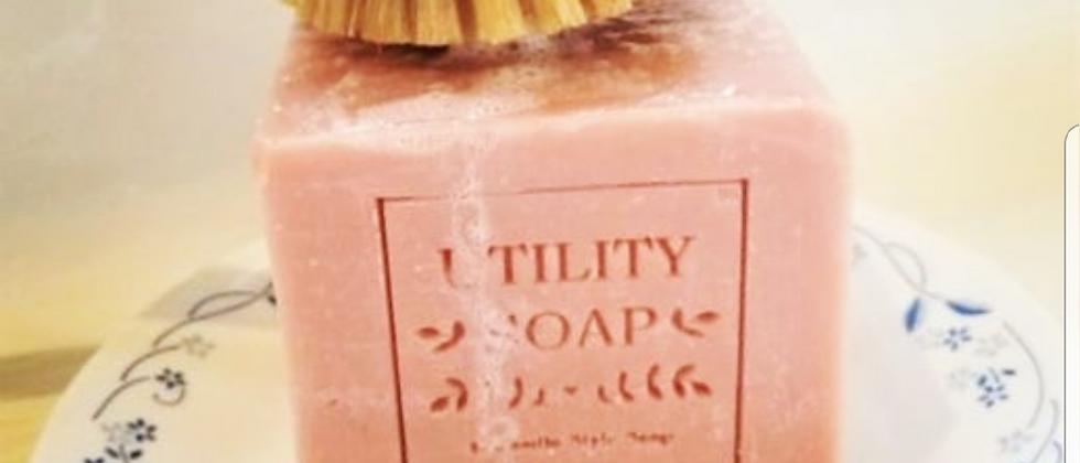 Du Jardin's XL Utility Soap - Pink