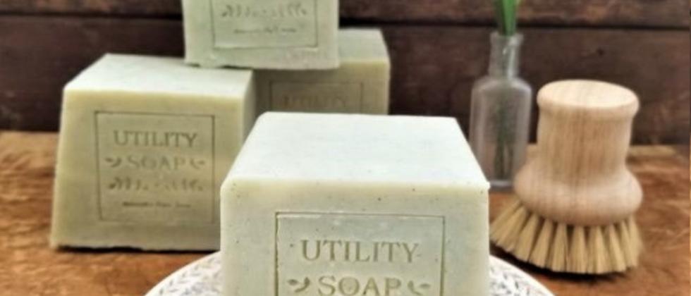 Du Jardin's XL Utility Soap - Green