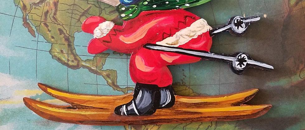 Otis Skiing Ornament