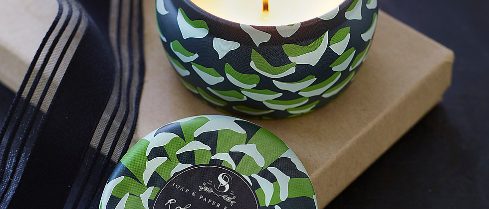 Roland Pine Small Tin Soy Candle