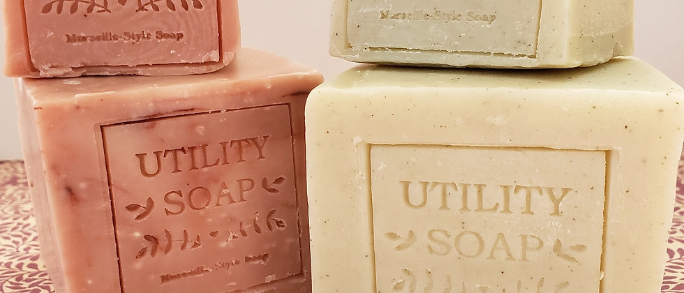 Du Jardin's Small Utility Soap - Green