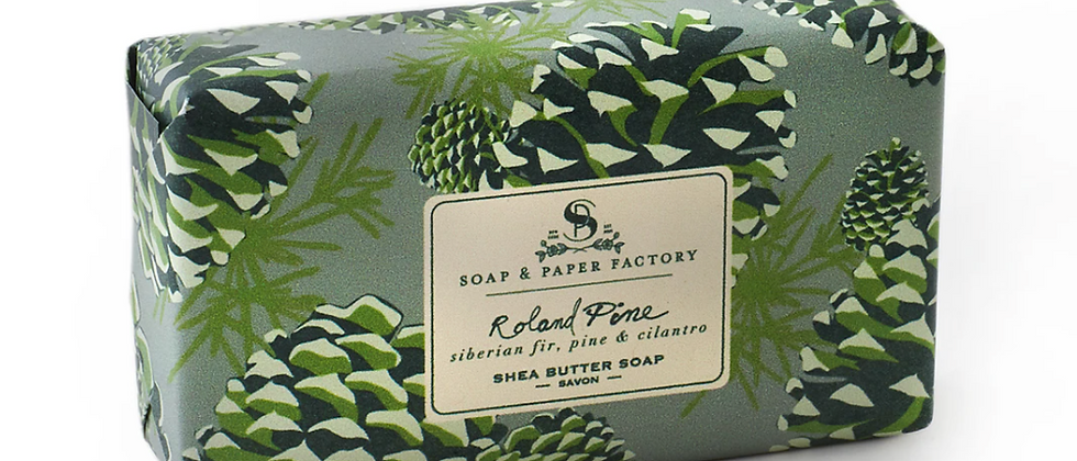 Soap and Paper Roland Pine Soap