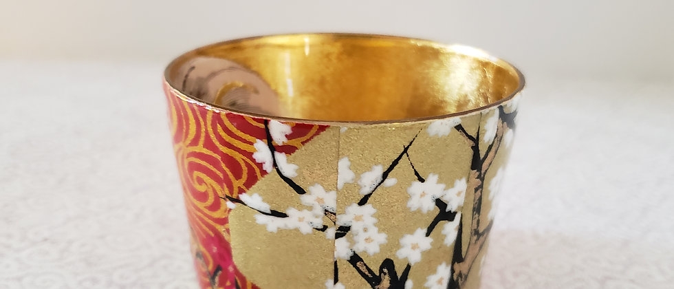 Melinda Shea Tealight - White Flowers