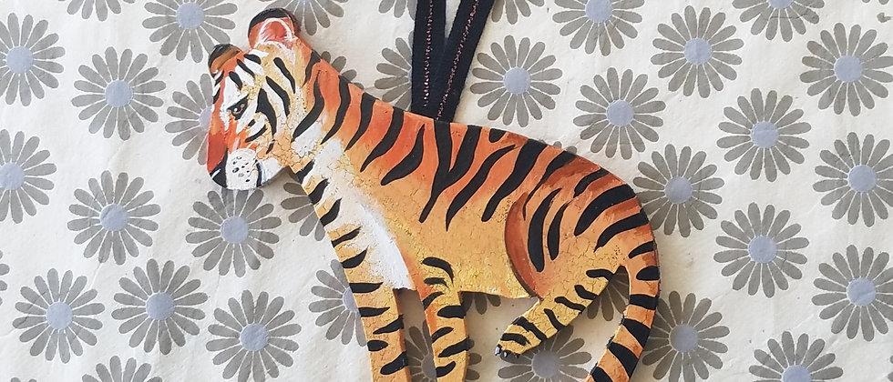 Harper the Tiger Ornament