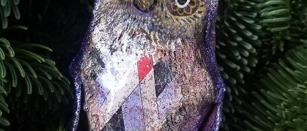 Papier Mache Owl