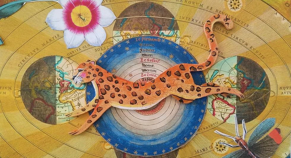 Animal Ornament Decoupage