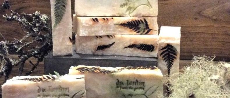 Du Jardin's Moss and Fern Deluxe Soap