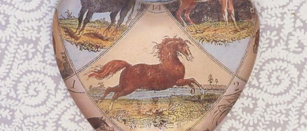 Melinda Shea Glass Charm - Horse