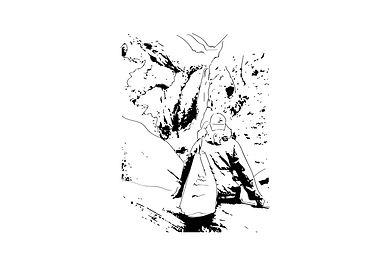 J Milena, Yosemite, souvenir, voyage, baluchon, sac, Provence, Illustration, Marseille, Sud, France, personnalisation, textile, croquis, dessin