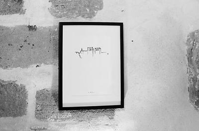 J Milena, La Marque, souvenir, affiche, sérigraphie, série limitée,, Provence, Illustration, Marseille, Sud, France, personnalisation, croquis